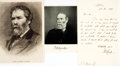 Autographs:Authors, Poet James Russell Lowell Autograph Letter Signed...