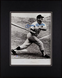 1990's Mickey Mantle Signed Oversized Photograph