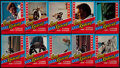 Non-Sport Cards:Unopened Packs/Display Boxes, 1974 Topps Evel Knievel Unopened 6-Card Cello Packs (10). ...