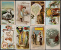 Non-Sport Cards:Lots, 1890's K1-K8 Arbuckle Brothers Coffee Trade Card Collection (115)....