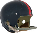 Football Collectibles:Helmets, Mid 1950's New York Giants Helmet Attributed to Charlie Conerly....