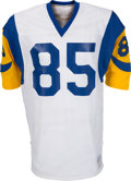 Football Collectibles:Uniforms, 1976-80 Jack Youngblood Game Issued Los Angeles Rams Jersey....