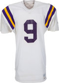 Football Collectibles:Uniforms, 1977-82 Tommy Kramer Game Worn Minnesota Vikings Jersey, MEARS A10....