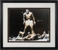 Boxing Collectibles:Autographs, 1990's Muhammad Ali Signed Oversized Photograph Display. ...