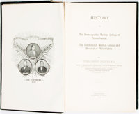 Thomas Lindsley Bradford. History of The Homoeopathic Medical College of Pennsylvania... Philad