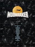 "Movie Posters:James Bond, Moonraker & Others Lot (United Artists, 1979). PromotionalPosters (3) (21"" X 27.5"", 15"" X 43.5"", 21.5"" X 30"") & Program(2 ... (Total: 4 Items)"