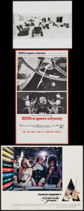 "Movie Posters:Science Fiction, 2001: A Space Odyssey & Other Lot (MGM, 1968). Photo (8"" X10""), Herald (9"" X 16""), and British Lobby Card (11"" X 14"").Scie... (Total: 3 Items)"