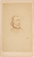 Western Expansion:Cowboy, George Armstrong Custer: Vignette CDV....