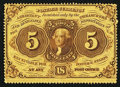 Fractional Currency:First Issue, Fr. 1228 5¢ First Issue Extremely Fine.. ...