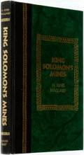 Books:Literature Pre-1900, H. Rider Haggard. King Solomon's Mines. Pleasantville: TheReader's Digest Association, [1994]....