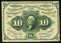 Fractional Currency:First Issue, Fr. 1243 10¢ First Issue New.. ...