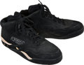 Basketball Collectibles:Others, 1990's Kevin McHale Game Worn Shoes with Equipment ManagerProvenance. ...