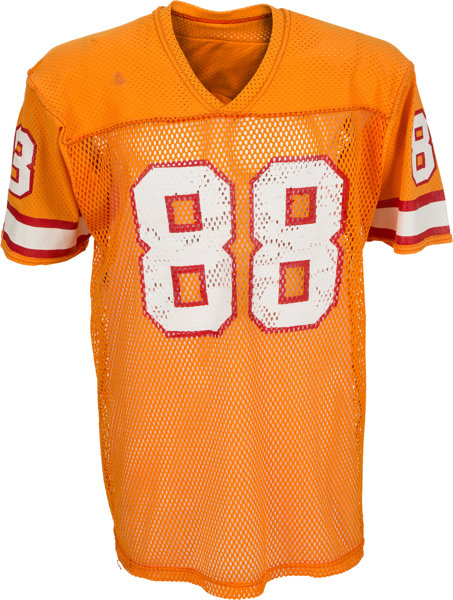 newest collection 54260 f35b5 1978-86 Jimmie Giles Game Worn Tampa Bay Buccaneers Jersey ...