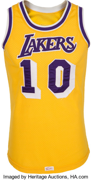 Late 1970 s Norm Nixon Game Worn Los Angeles Lakers Jersey  0ac0a2c67