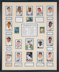 Baseball Collectibles:Others, 1930's-2000's 500 Home Run Club Signed Display....