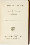 Books:Science & Technology, H.G. Wells and A.M. Davies. A Text-Book of Zoology. London: University Tutorial Press, 1915. Eighth impression, sixt...