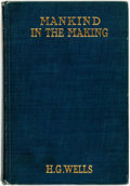 Books:Social Sciences, H.G. Wells. Mankind in the Making. New York: CharlesScribner's Sons, 1916. Reprint edition. ...