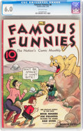 Platinum Age (1897-1937):Miscellaneous, Famous Funnies #8 (Eastern Color, 1935) CGC FN 6.0 Off-whitepages....