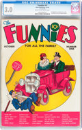 Platinum Age (1897-1937):Miscellaneous, The Funnies #1 (Dell, 1936) CGC GD/VG 3.0 Cream to off-white pages....