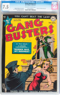 Golden Age (1938-1955):Crime, Gang Busters #1 (DC, 1947) CGC VF- 7.5 Off-white to white pages....