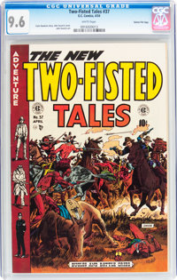 Two-Fisted Tales #37 Gaines File pedigree 2/12 (EC, 1954) CGC NM+ 9.6 White pages
