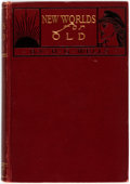 Books:Social Sciences, H.G. Wells. New Worlds for Old. New York: The MacmillanCompany, 1908. First American edition. ...