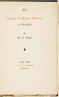 Books:Science & Technology, H.G. Wells. The Island of Doctor Moreau. A Possibility. New York: Stone & Kimball, 1896. First American edition (Cur...