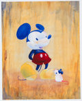 Animation Art:Poster, Mickey Mouse Role Model Limited Edition Giclee #7/150 byCathy Clark (Acme Archives Limited/Walt Disney, 2010).... (Total: 2Items)