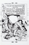 Original Comic Art:Covers, Bruce McCorkindale Tales of Suspense #71 Cover RecreationIllustration Original Art (2012).. ...