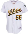Baseball Collectibles:Uniforms, 2011 Hideki Matsui Game Issued Oakland Athletics Uniform....