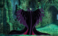 Animation Art:Color Model, Sleeping Beauty Maleficent Color Model Cel (Walt Disney, c.1990s)....