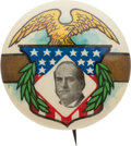 Political:Pinback Buttons (1896-present), William Jennings Bryan: A Superb, Rare Multicolor 1 ¼-inch Design....