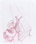 Animation Art:Production Drawing, The Sword in the Stone VHS Cover Art Concept Drawing (WaltDisney, 1990s).... (Total: 2 Original Art)