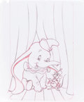 Animation Art:Production Drawing, Dumbo VHS Box Concept Art (Walt Disney, ca. 1990s)....(Total: 3 Original Art)