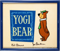 Animation Art:Limited Edition Cel, Yogi Bear and Friends - Limited Edition Title Cel Group(Hanna-Barbera, c. 1990s).... (Total: 3 Original Art)