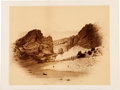Photography:Official Photos, Pike's Peak: Large William Henry Jackson Mounted Albumen....
