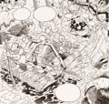 Original Comic Art:Splash Pages, William Langley DuckTales Splash Page Original Art (WaltDisney, 1988)....