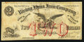 Obsoletes By State:Georgia, Rising Fawn, GA- Rising Fawn Iron Company $2 Feb. 15, 1875 . ...