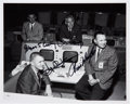 Autographs:Celebrities, NASA Mission Control's First Four Flight Directors Signed Photo....