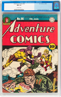 Adventure Comics #96 (DC, 1945) CGC NM 9.4 Off-white pages