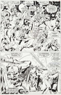 "Original Comic Art:Panel Pages, Jack Kirby and Vince Colletta Thor #136 ""To Become AnImmortal"" Page 3 Original Art (Marvel, 1967)...."