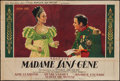 """Movie Posters:Foreign, Madame Sans-Gene (Films Roger Richebe, 1941). French Double Grande (61"""" X 90""""). Foreign.. ..."""