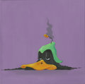 Mainstream Illustration, Canvas 082. Duck Dodgers in the 24th & 1/2 Century.Acrylic on canvas. 12 x 12 in.. ...
