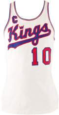 Basketball Collectibles:Uniforms, Early 1970's Nate Archibald Game Worn Jersey. At six feet tall on agood day, and tipping the scale at one hundred fifty po...