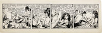 Matt Baker - Flamingo Daily Comic Strip #92 Original Art, dated 5-26-52 (Phoenix Features, 1952)