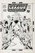 Original Comic Art:Covers, Carmine Infantino, Dick Dillin, and Joe Giella (attributed) -Justice League of America #66 Unpublished Alternate Cover Origin...