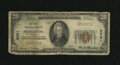 National Bank Notes:Virginia, Pearisburg, VA - $20 1929 Ty. 1 The First NB Ch. # 8091. ...