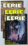 Magazines:Horror, Eerie Group (Warren, 1966-72) Condition: Average VG/FN.... (Total: 24 Comic Books)
