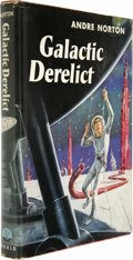 Books:First Editions, Andre Norton: Galactic Derelict....