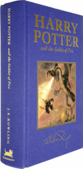Books:Fiction, J. K. Rowling: Harry Potter and the Goblet of Fire. (London:Bloomsbury, 2000), first edition, 636 pages, blue cloth boa...(Total: 1 Item)